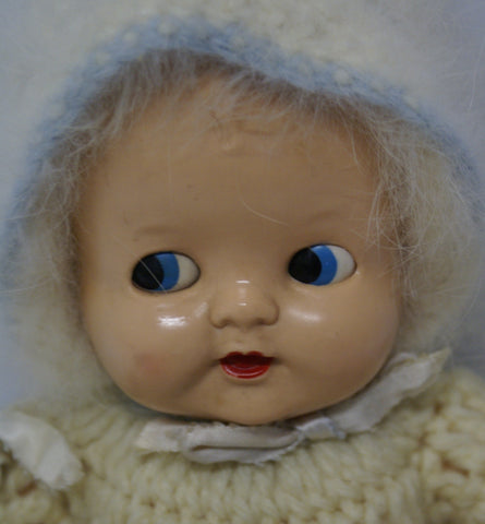 Ideal Vintage Doll with mohair clothing.  12""