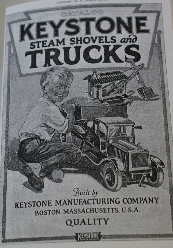 Keystone Steam Shovels and trucks reproduction Catalog  24 pages