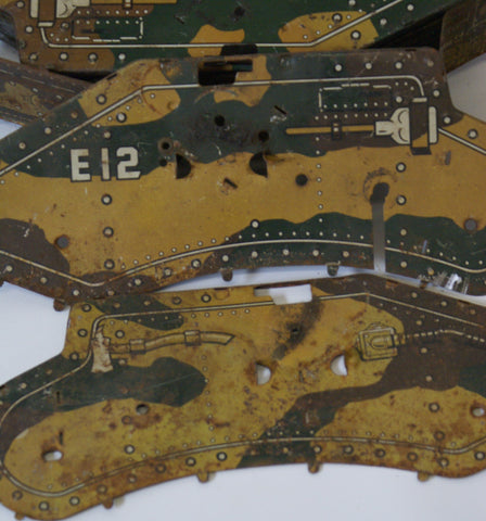 E12 Tank parts.   Original for parts only.