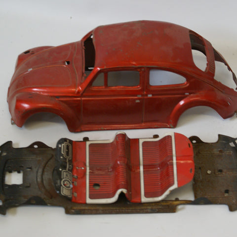 Vintage toy VW car for parts only.