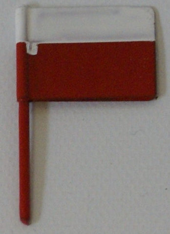 Fleischmann Toy Boat small square flag 3/4""