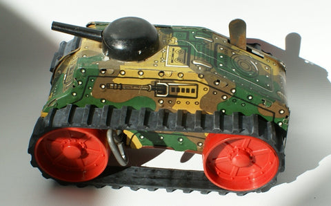Marx small tanks and caterpillars : Rubber Track 1/2 x 11""