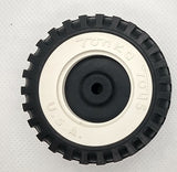 Tonka wheel white wall 1-15/16""