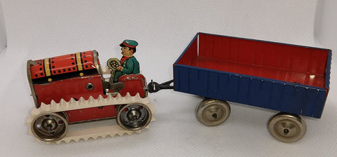 "Vintage Toy Gama Tracks 1/4"" x 10"" sold in lengths to make your own."