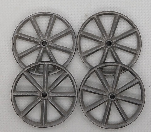 "Vintage toy Wheels : 8 Spoke 1-3/4"" (Set of Four)"