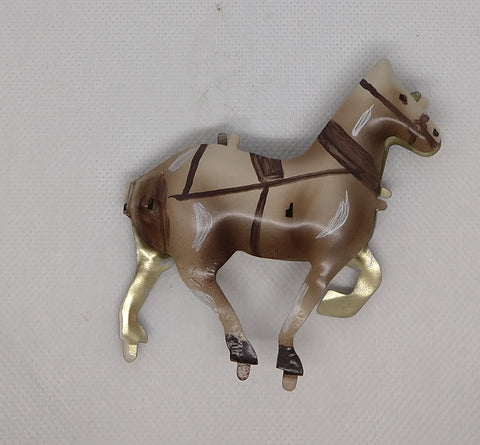 Vintage toy carousel replacement horse. 3-1/2""