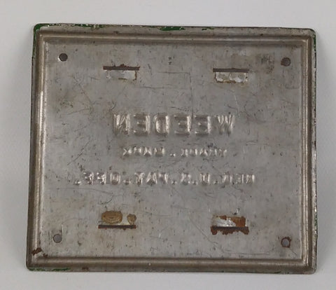 Weeden steam engine accessory : Parts only.