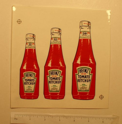 1950's Minnitoy Heinz Ketchup Large Decal