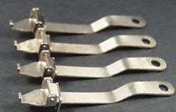 Toy Train Couplers Ives O gauge. 3-1/4""