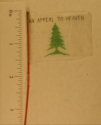 Toy flag : Pine Tree