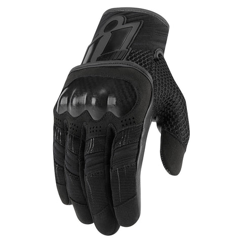WOMENS OVERLORD™ TOUCHSCREEN SHORT GLOVES BLACK