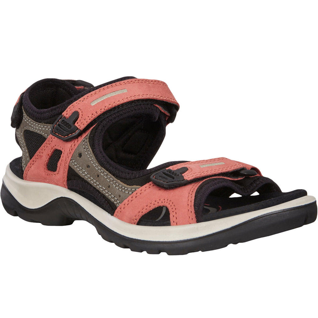 ECCO Womens Offroad Yucatan Hiking Sandals - Apricot
