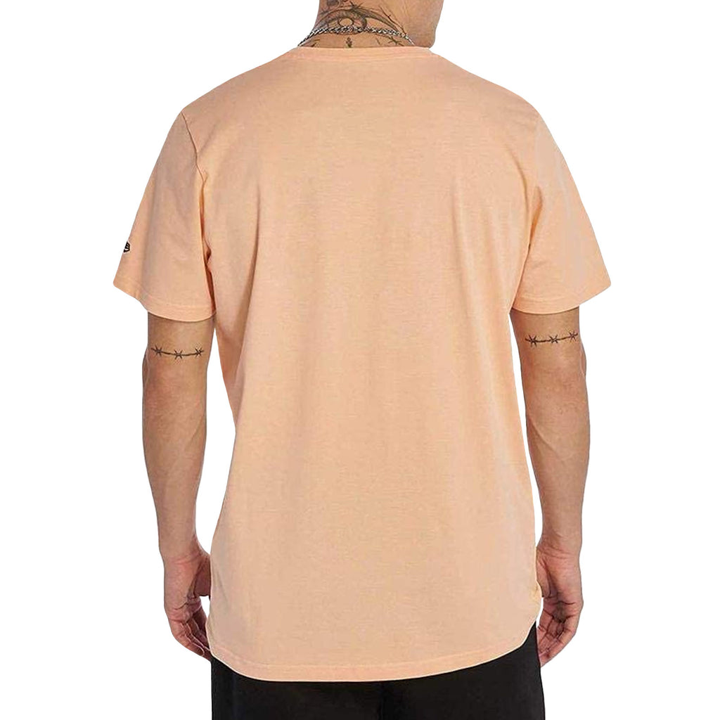New Era Mens Visor Sticker Official T-Shirt - Orange