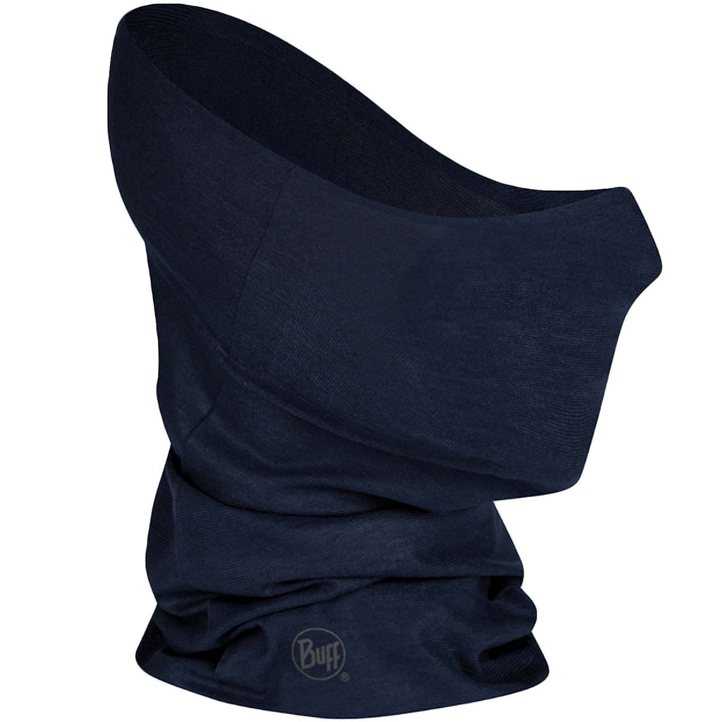 Buff Unisex Adults Filter Tube Tubular - Solid Navy - M/L