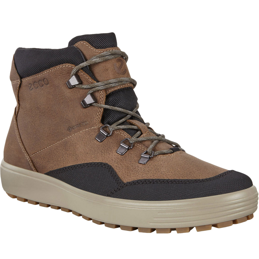 ECCO Mens Soft 7 Tred GTX Boots - Brown