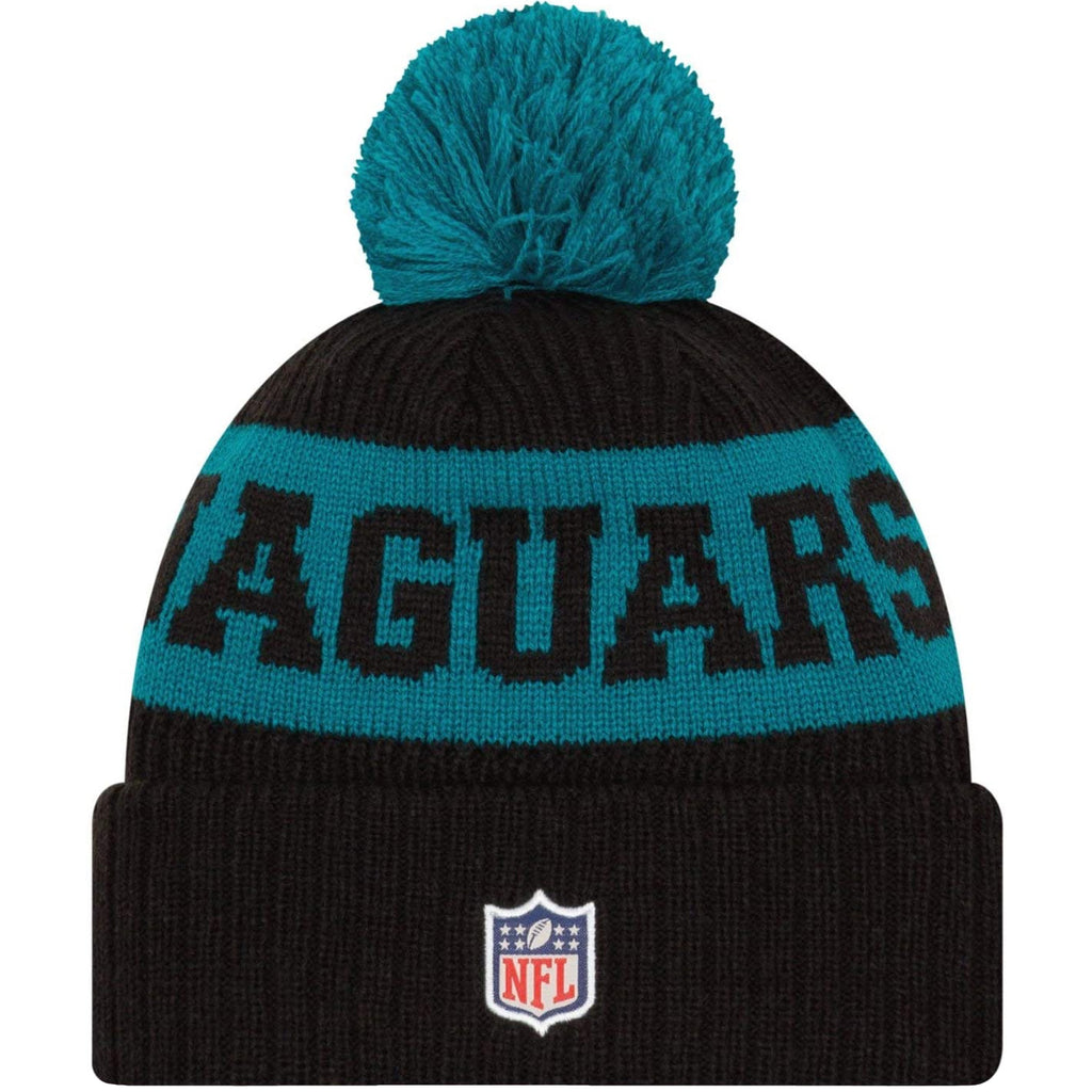 New Era NFL Sideline On-Field Official 2020 Bobble Hat - Jacksonville Jaguars