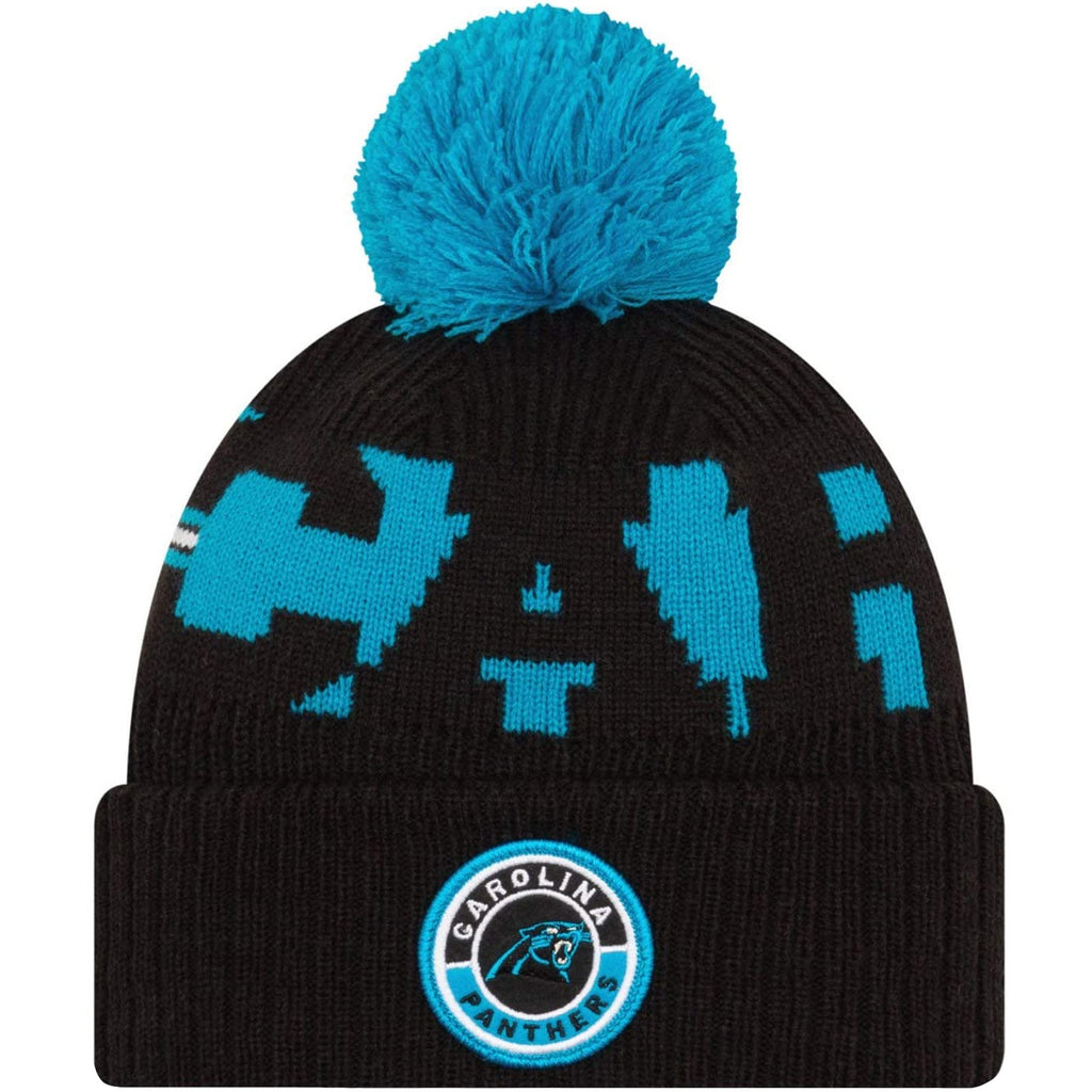 New Era NFL Sideline On-Field Official 2020 Bobble Hat - Carolina Panthers