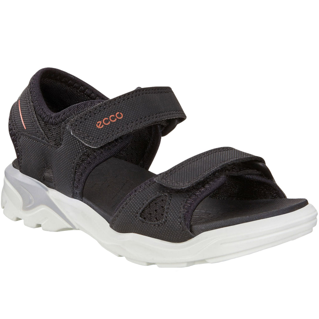 ECCO Girls Biom Raft Sandals - Black