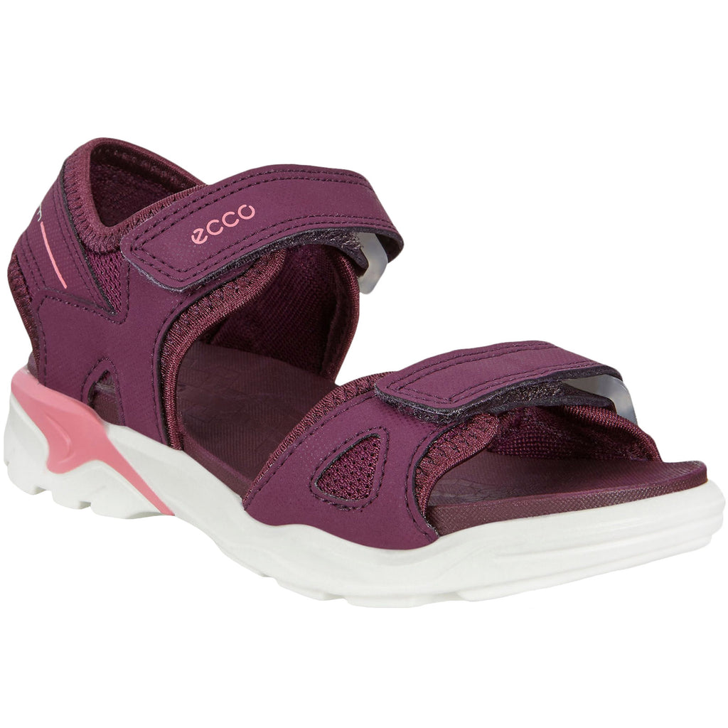 ECCO Girls Biom Raft Sandals - Purple