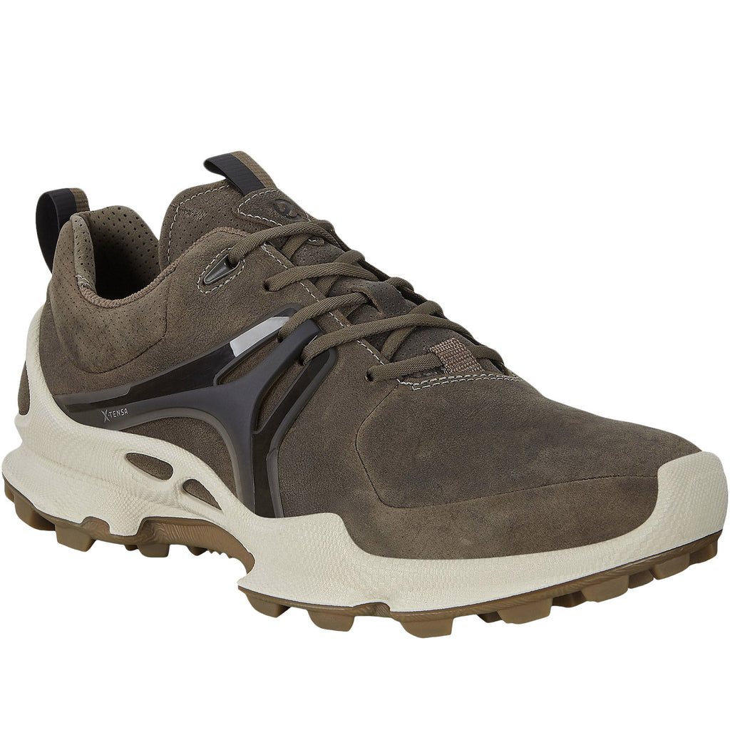 ECCO Mens BioM C-Leather Trainers - Grey