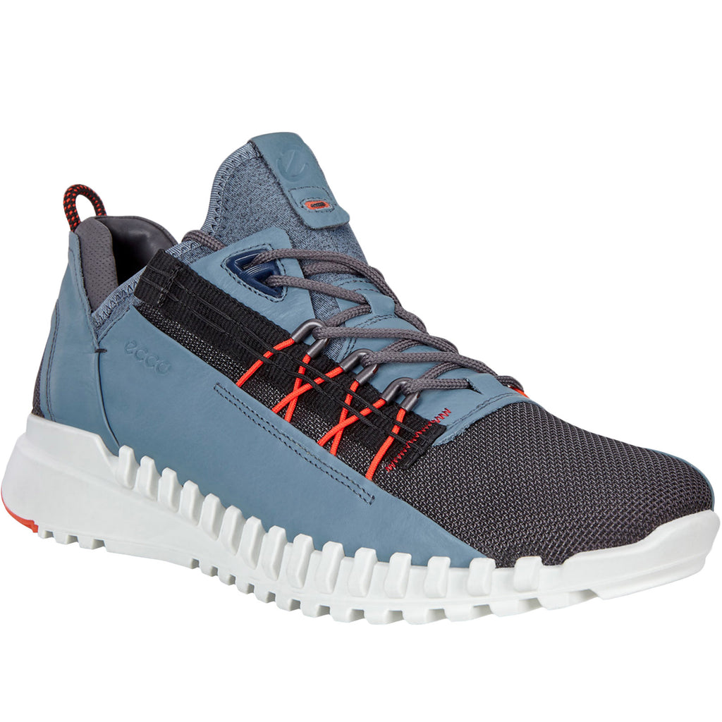 ECCO Mens Zipflex Trainers - Moonless