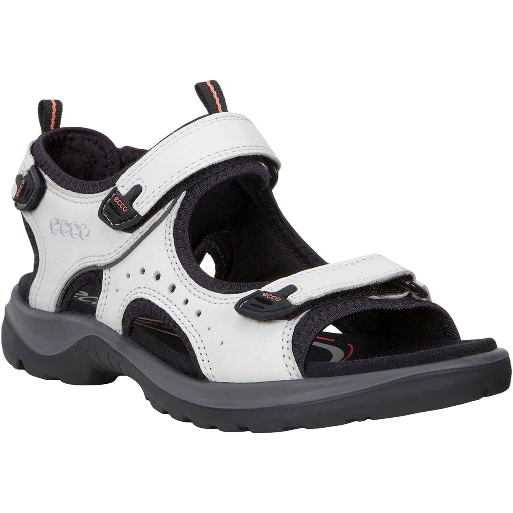 ECCO Womens Offroad Andes II Hiking Sandals - White