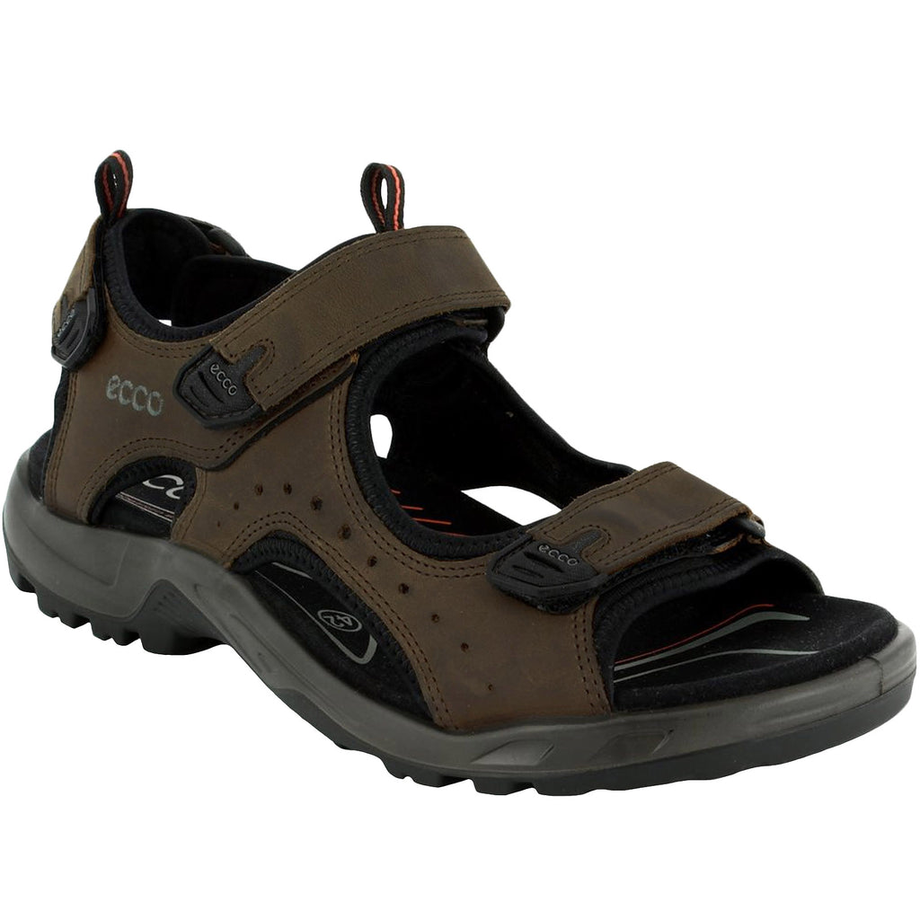 Ecco Mens Andes II Hiking Sandals - Brown