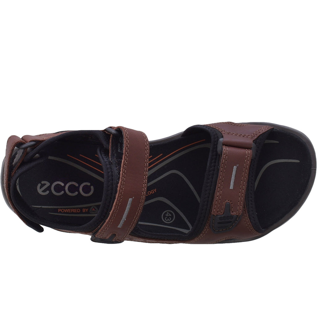 ECCO Mens Offroad Yucatan Trail Sandals - Brandy
