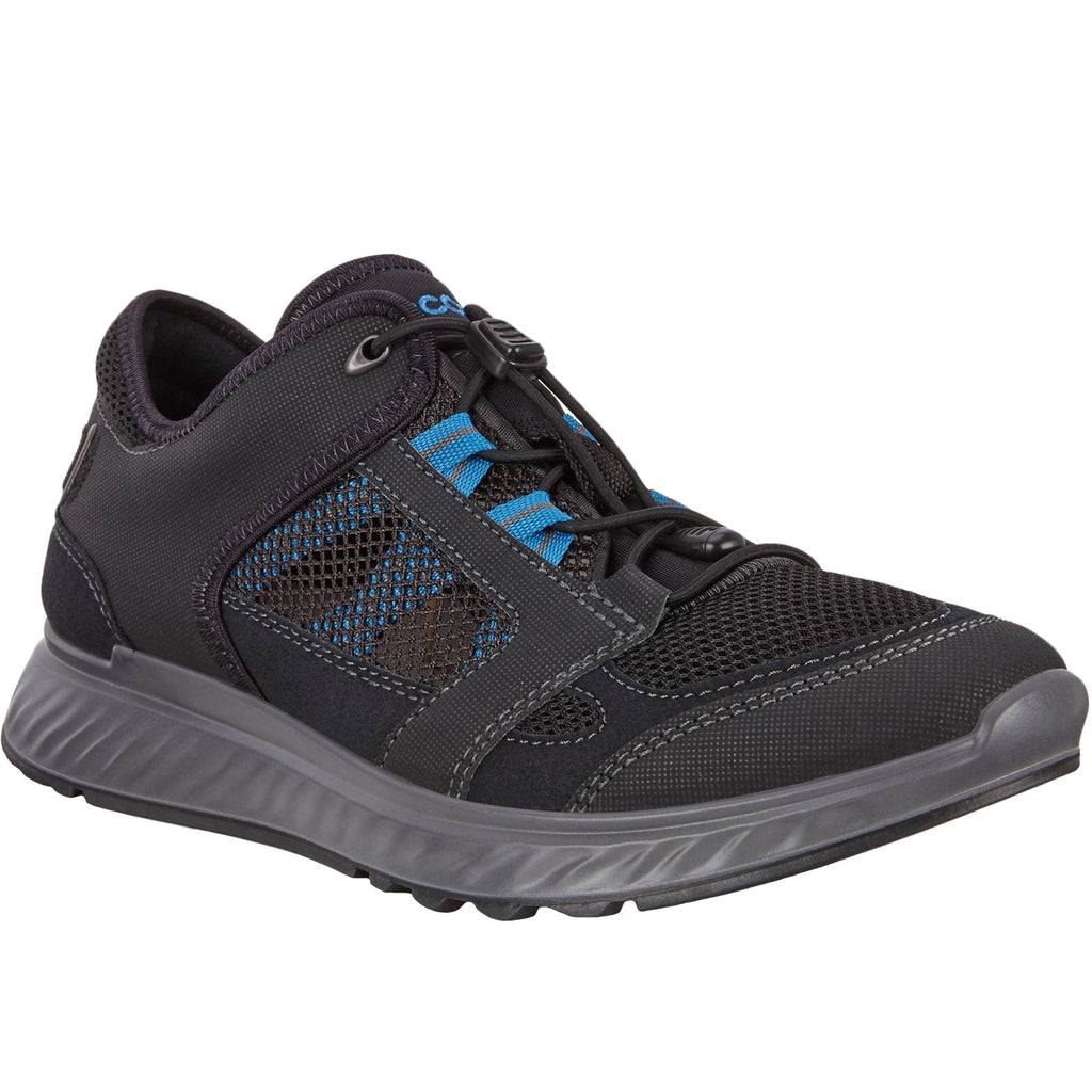 ECCO Mens Exostride Low Vent Hiking Trainers - Black