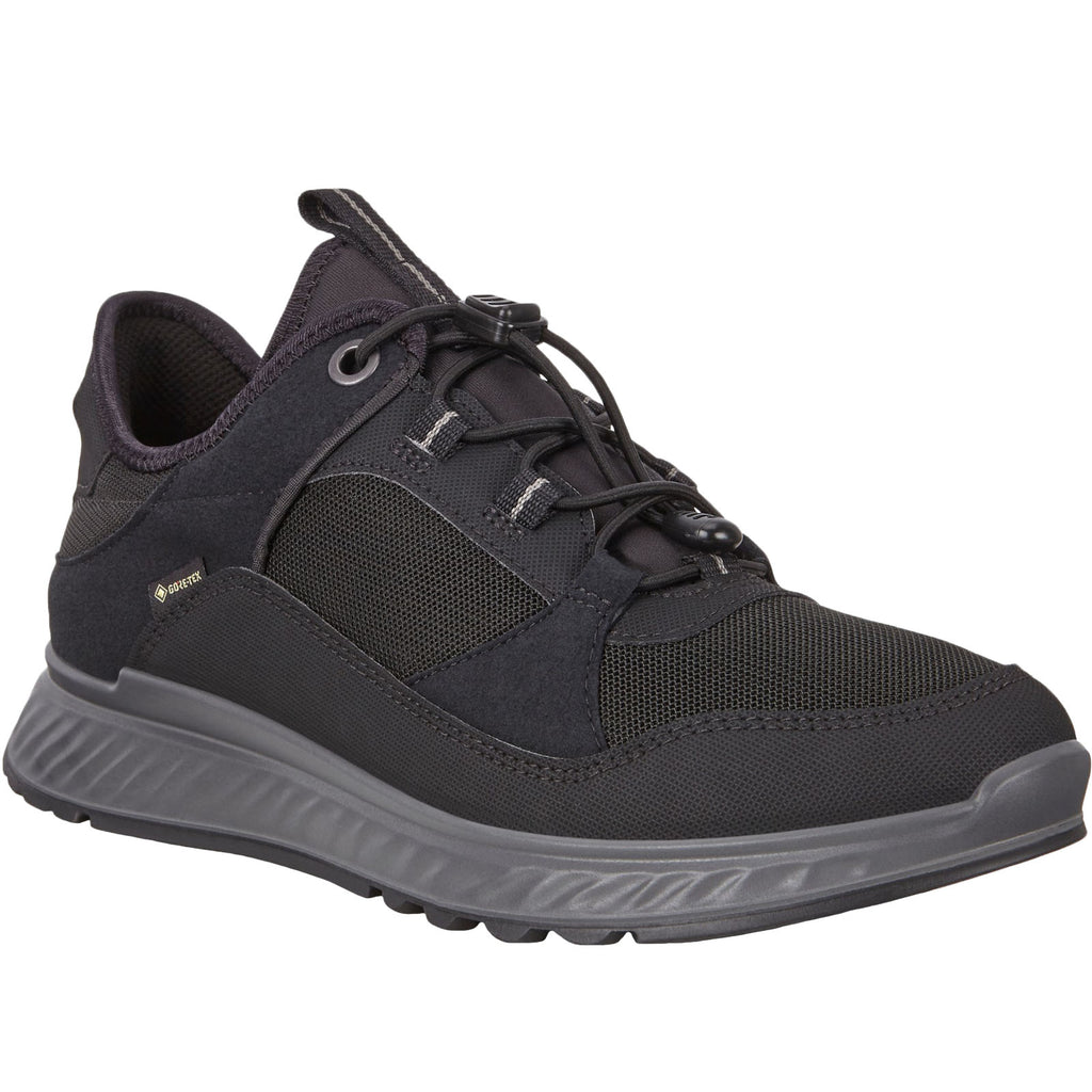 Ecco Exostride Low GTX TEX GORE-TEX Trainers - Black