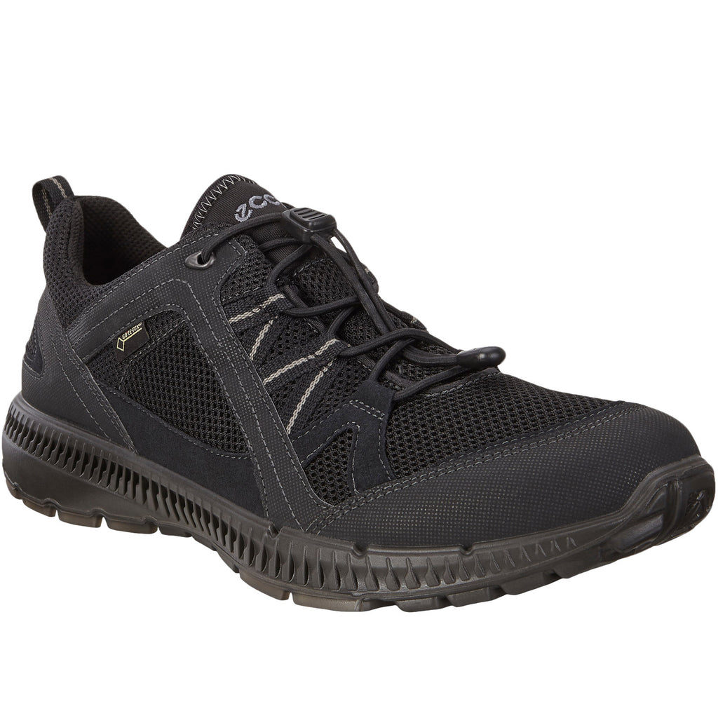 ECCO Mens Terricruise II Gore-Tex Walking Trainers - Black - 6.5-7 UK(40EU)