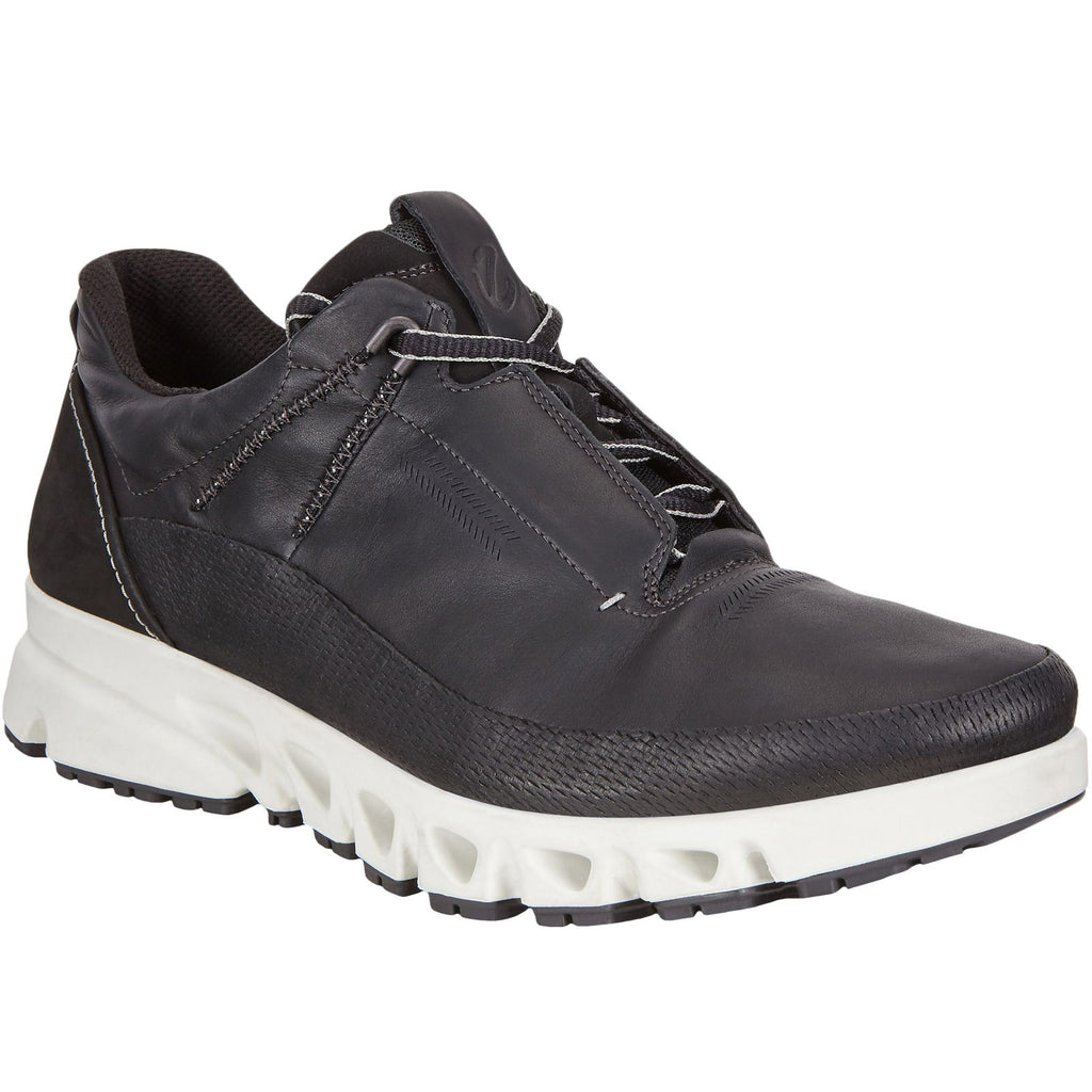 ECCO Mens Multi-Vent Low Hiking Trainers - Black