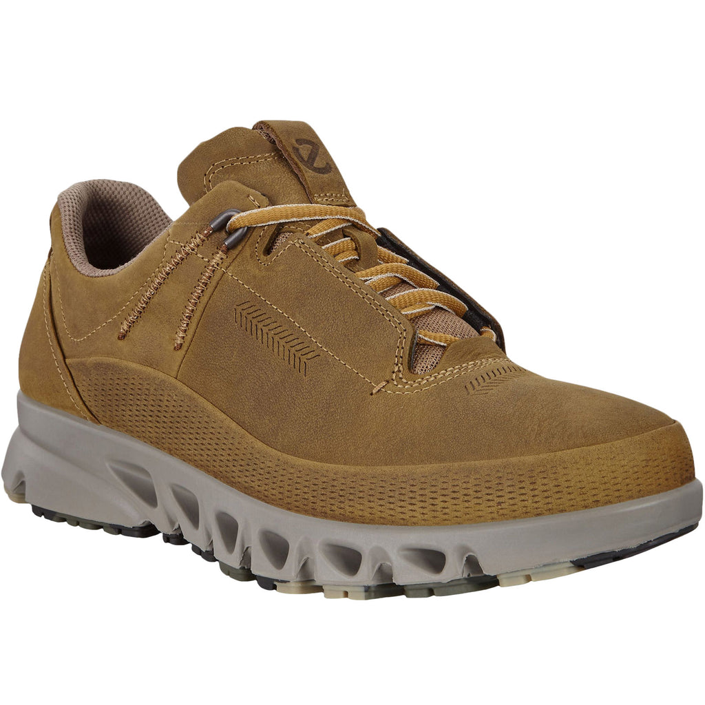 ECCO Mens Multi-Vent Low Hiking Trainers - Cayote