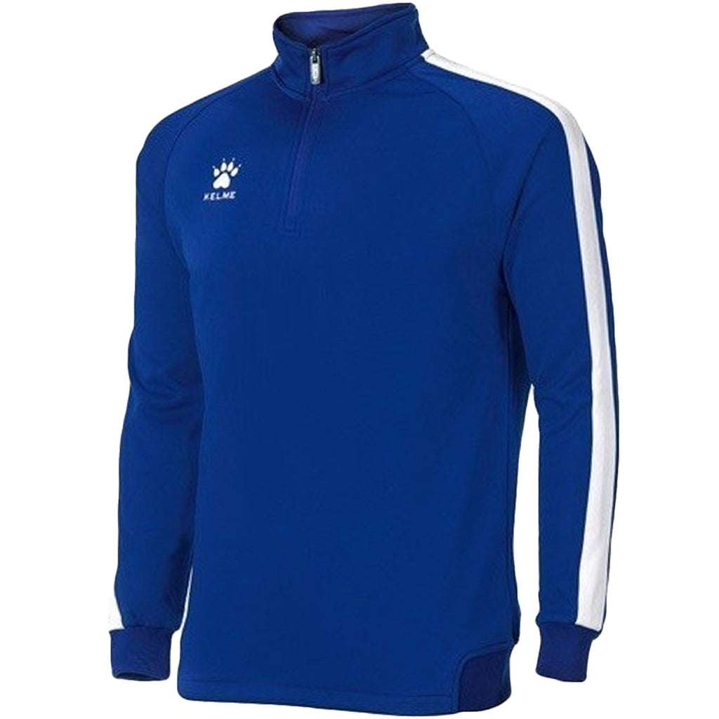 KELME Mens Global 1/4 Zip Football Track Top - Royal