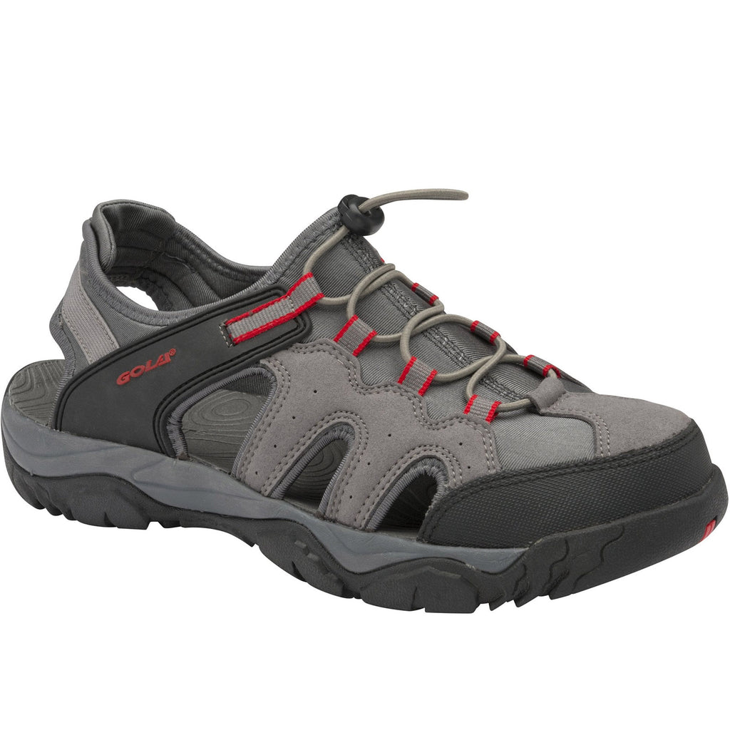 Gola Mens Arizona Closed Toe Sandals -Grey