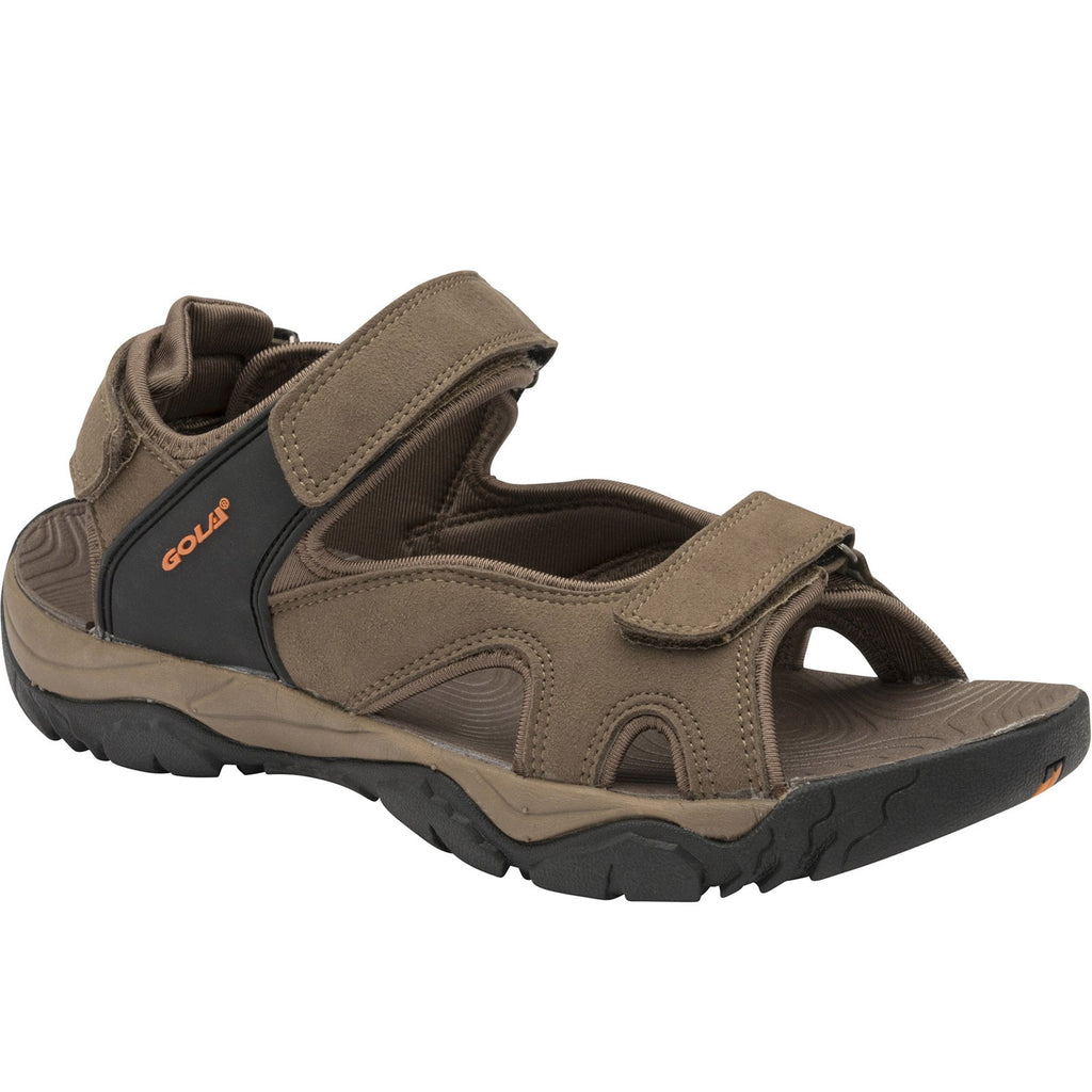 Gola Mens Dakota Raft Sandals - Taupe