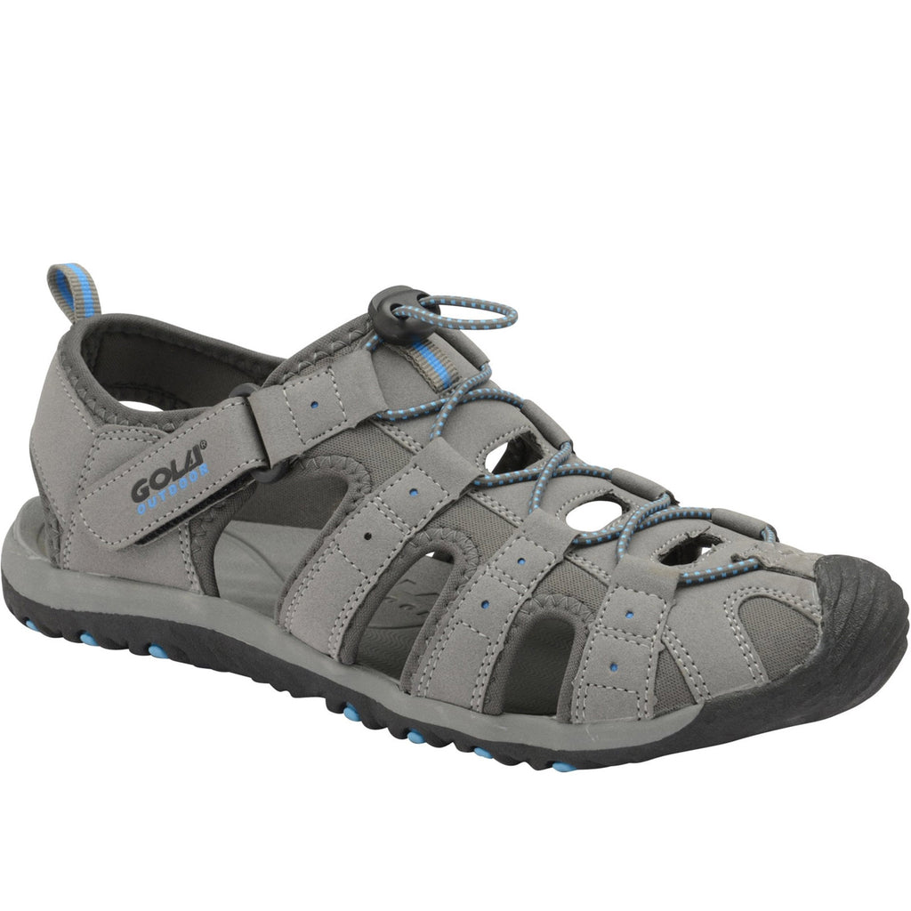 Gola Mens Shingle 3 Sling Back Sandals - Grey