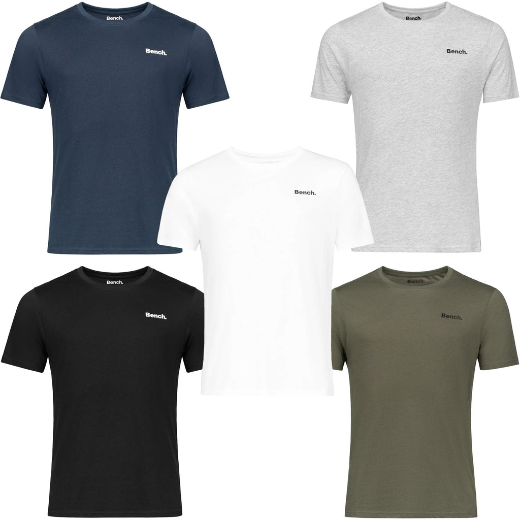 Bench Mens Oliver 5-Pack T-Shirt - Core