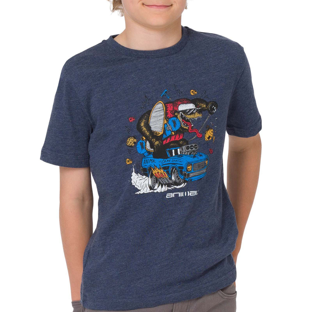 Animal Bosso T-shirt - Blue