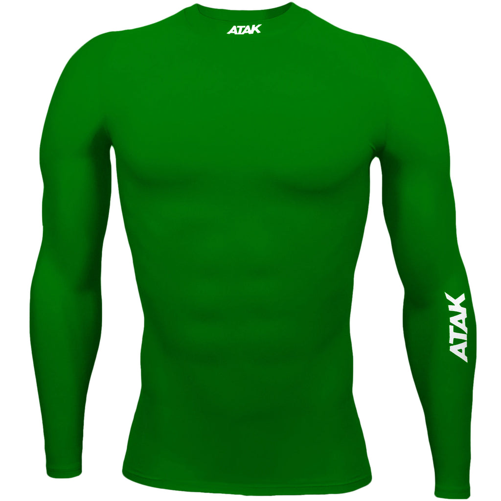 ATAK Mens Compression Top - Green