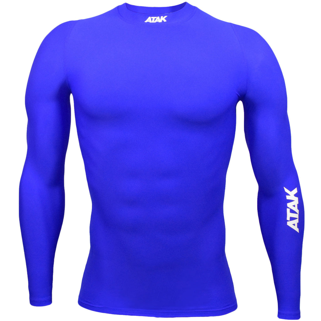 ATAK Youths Compression Top - Royal Blue