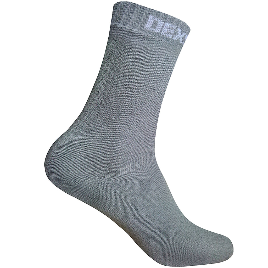 DexShell Ultra Thin Ankle Socks - Grey