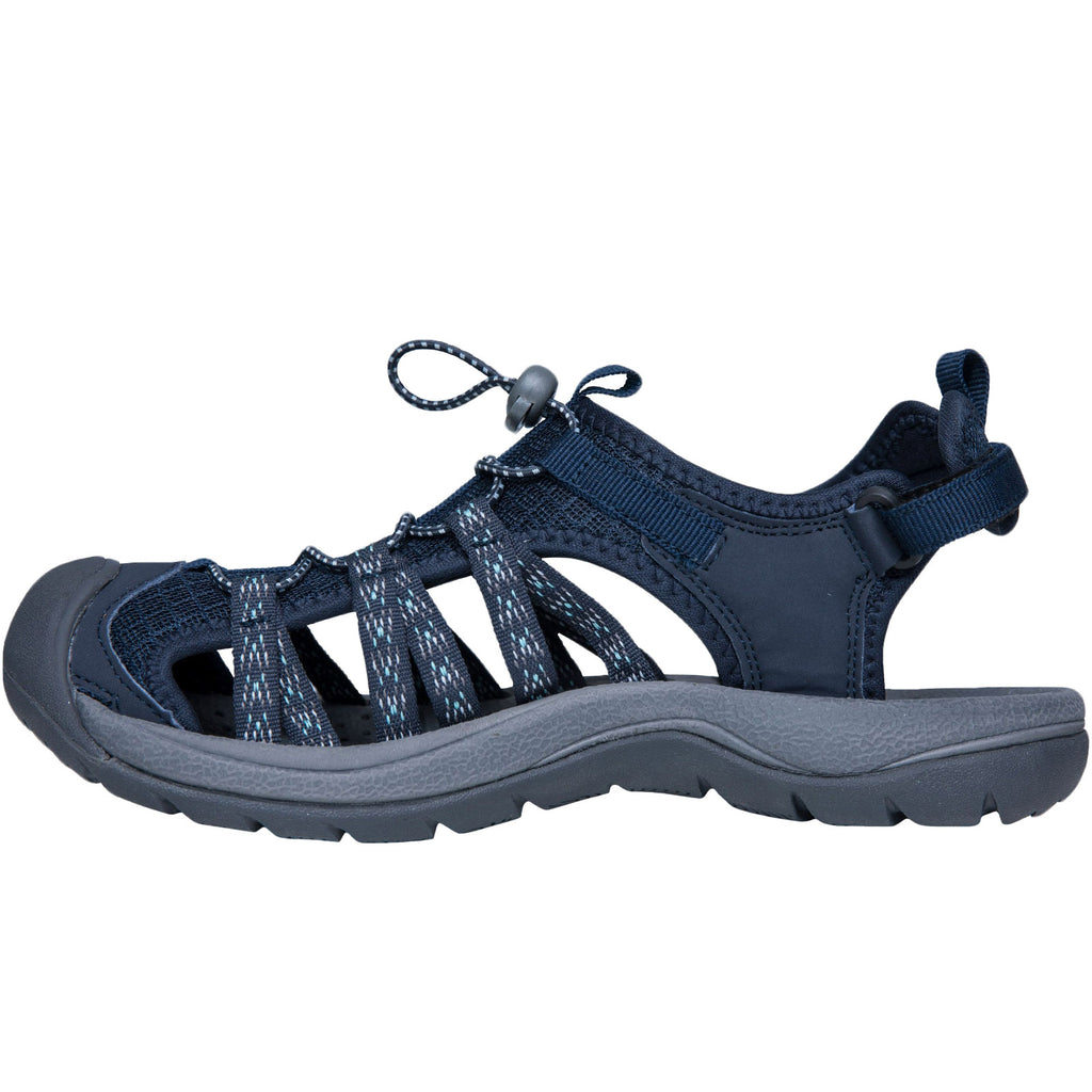 Trespass Womens Brontie Closed Toe Sandals - Navy