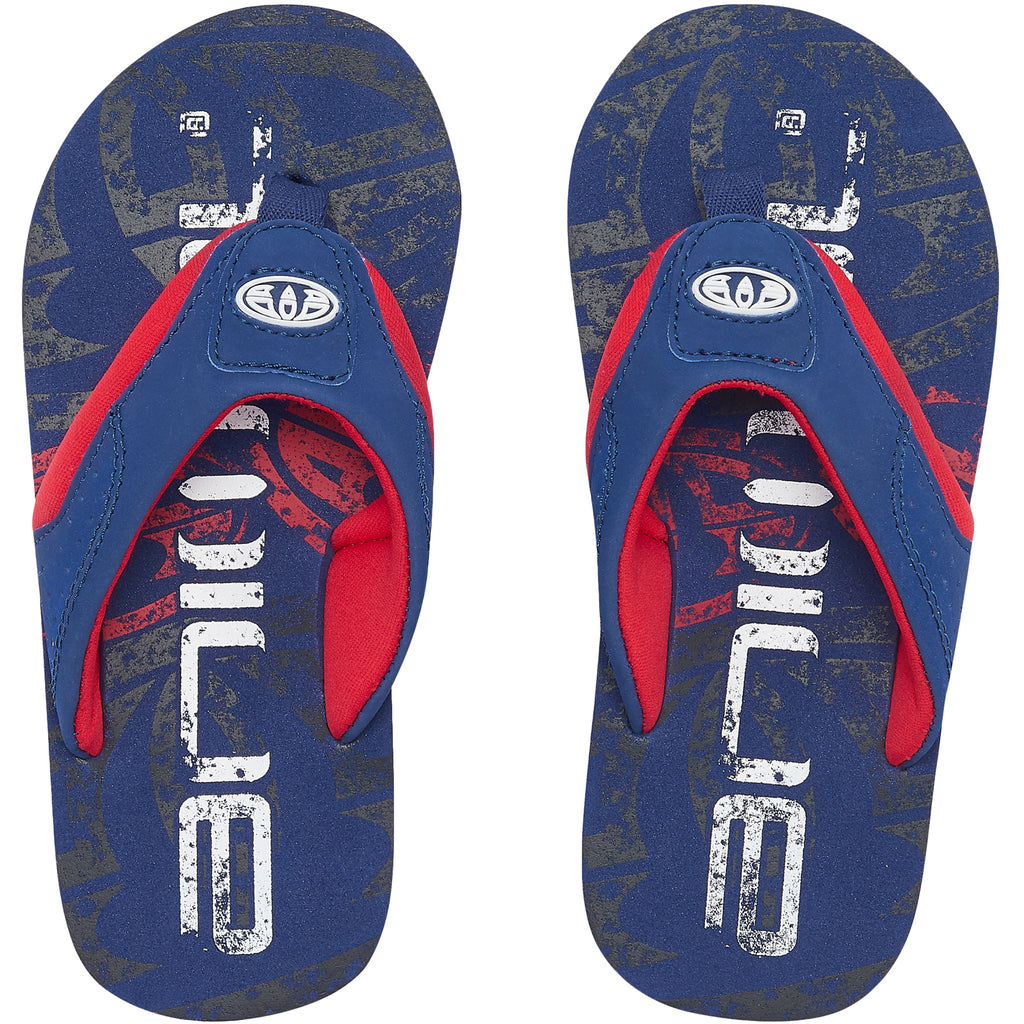 Animal Jekyl Logo Flip Flops - Nautical Blue