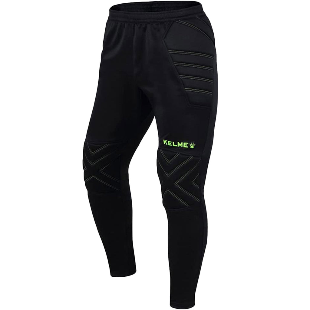 KELME Boys Zamora Football Goalkeeper Padded Pants - Black