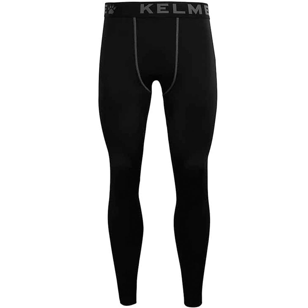 KELME Mens Quick Dry Thermal Base Layer Leggings - Black