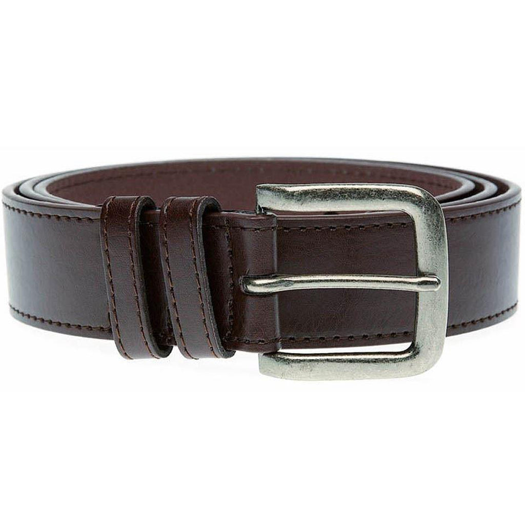Duke D555 Archie Big Tall Leather Belt -Brown