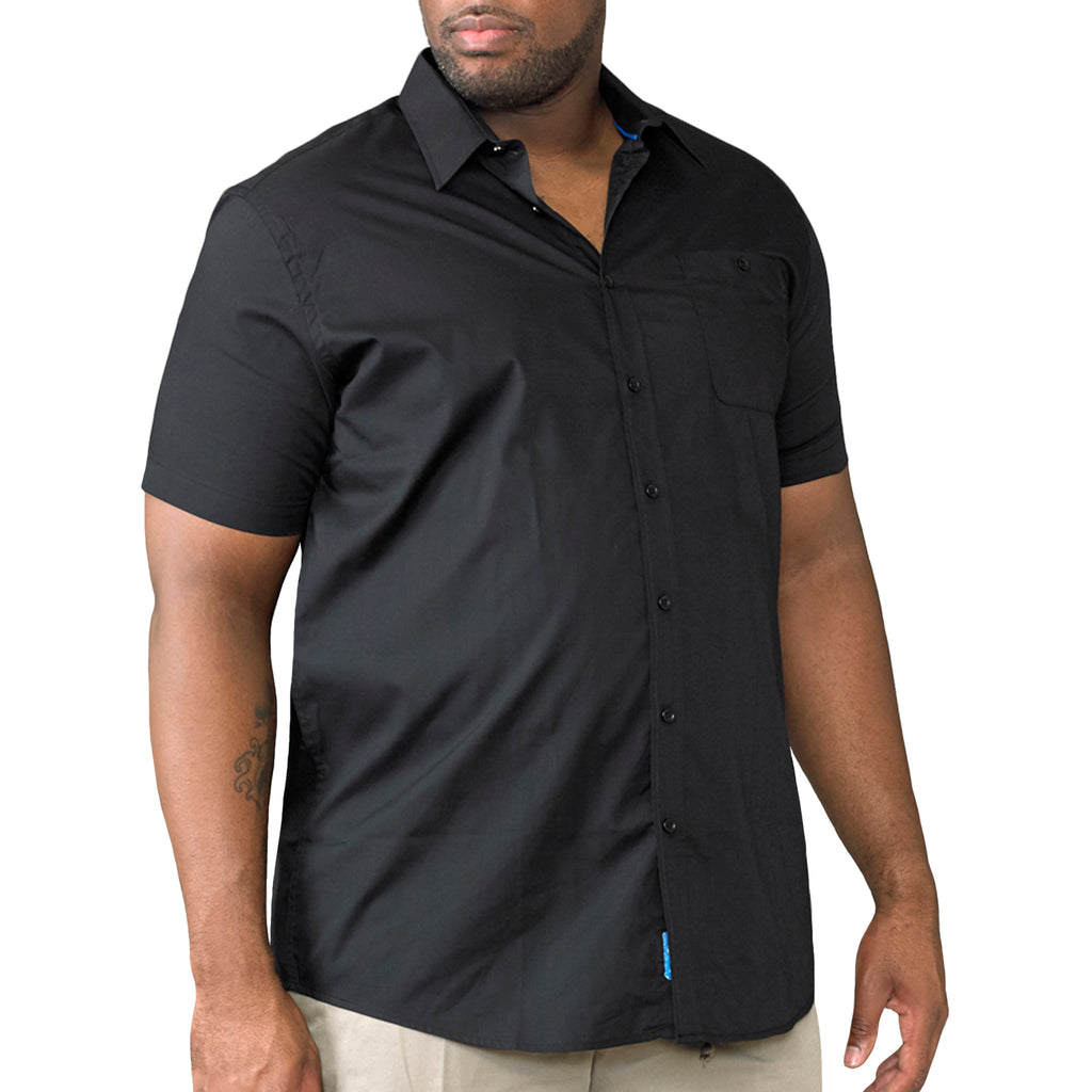Duke D555 Aeron Big Tall Shirt - Black