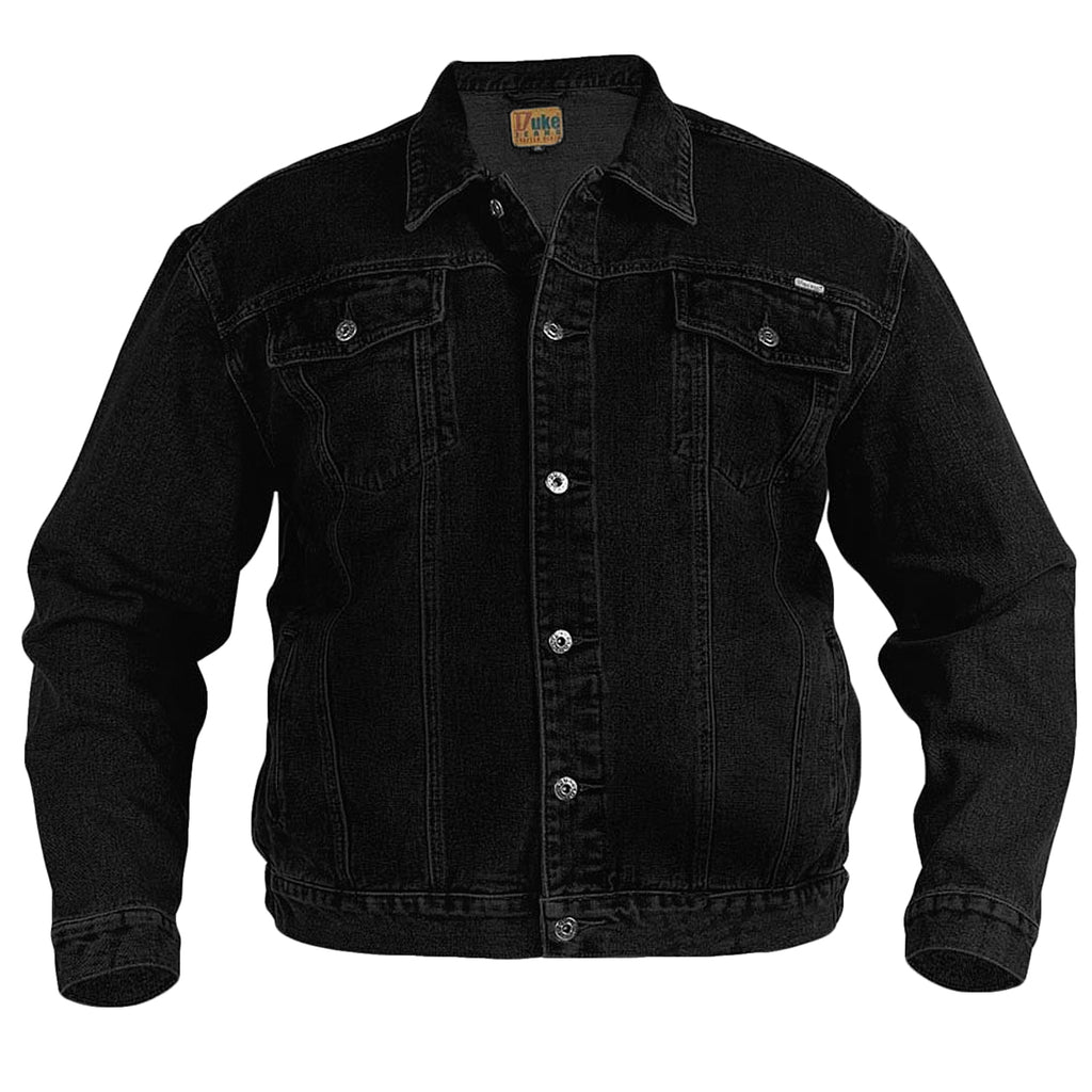 Duke D555 King Size Denim Jacket - Black