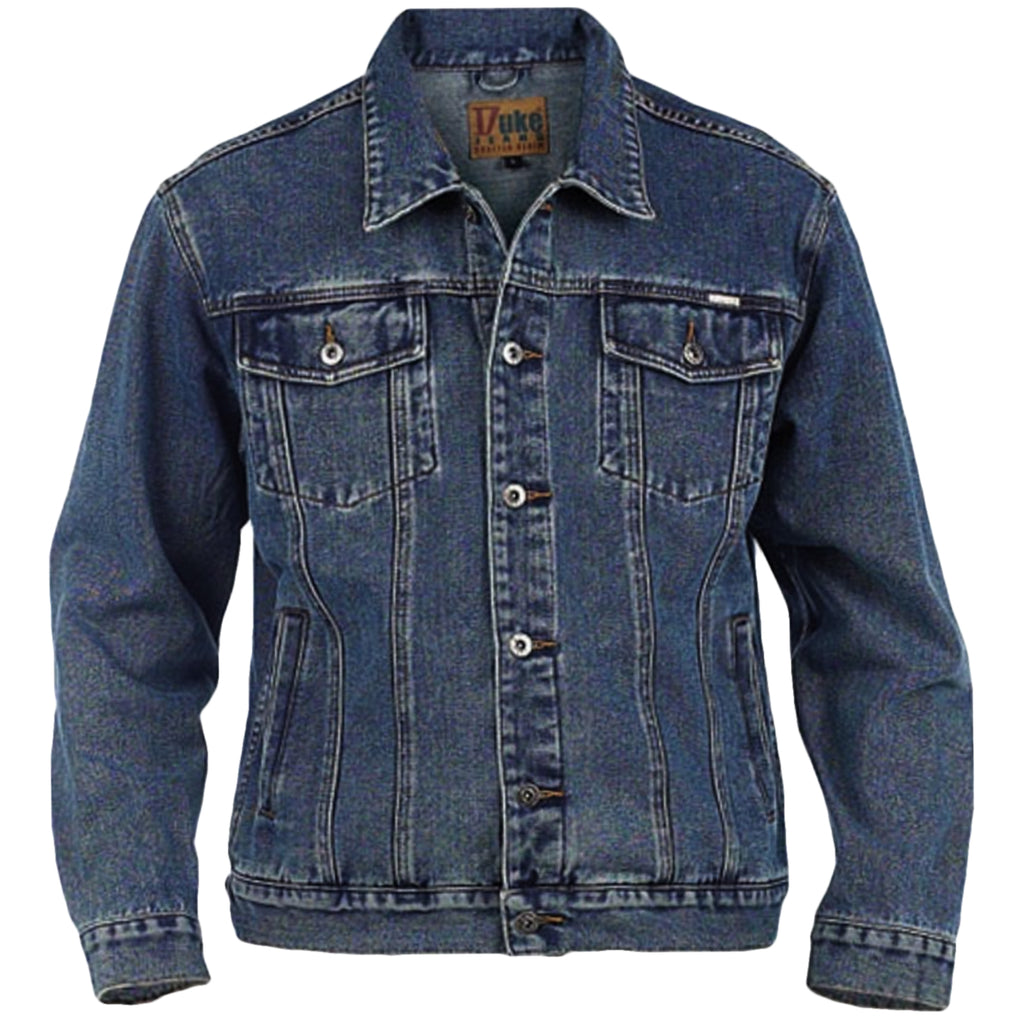Duke D555 King Size Denim Jacket - Blue